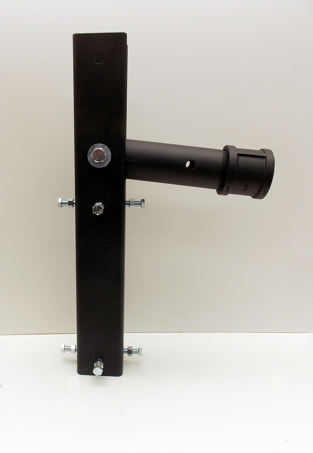 Easy-Up Swivel Mounting Bracket for a Steel Pole Mounted Bat House