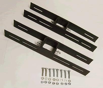Steel Pole Double Unit, Back-to-Back Mounting Bracket for Bat Houses