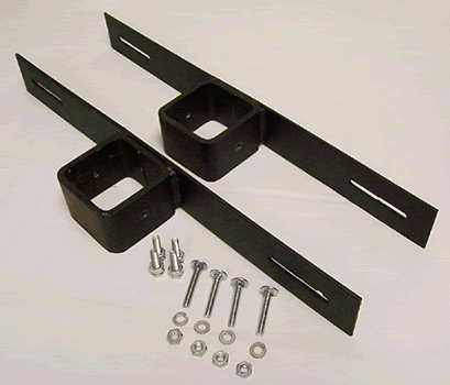 Steel Pole Single Unit Mounting Bracket for Bat Houses